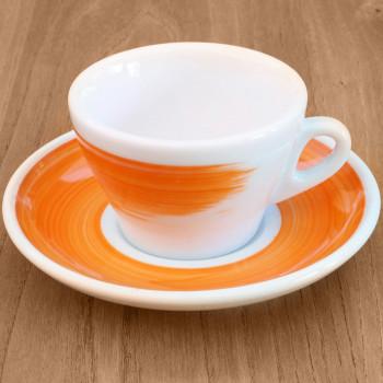 "Cappuccinotasse Ancap ""Torino"" orange, 6 Stk."