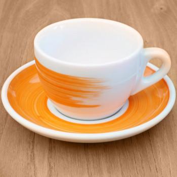 "Cappuccinotasse Ancap ""Verona"" orange, 6 Stk."