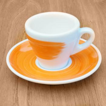 "Espressotasse Ancap ""Torino"" orange, 6 Stk."