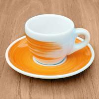 "Espressotasse Ancap ""Verona"" orange, 6 Stk."