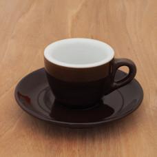 "Espressotasse IPA ""Aosta"" braun - LE, 6 Stk."