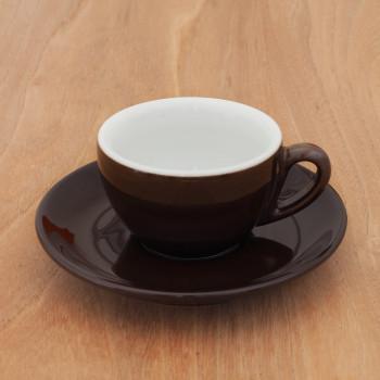 "Espressotasse IPA ""Milano"" braun, 6 Stk."