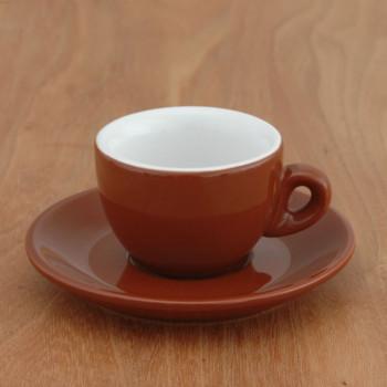 "Espressotasse Nuova Point ""Sorrento"" braun, 6 Stk."